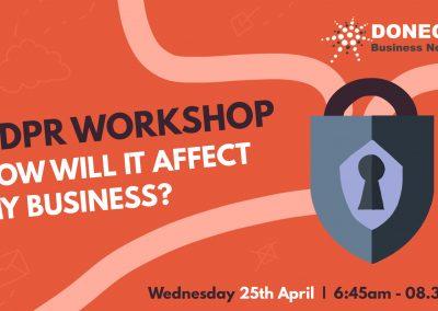 GDPR Workshop - Facebook event image