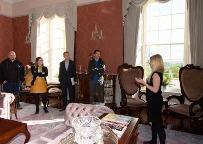 Donegal Business Network (DBN) visitors meeting in Rockhill House on Wednesday last.