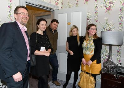 Donegal Business Network (DBN) visitors meeting in Rockhill House on Wednesday last. Photo:- Clive Wasson.