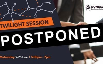 POSTPONED – Twilight Meeting – 6.00 pm to about 7.00 pm