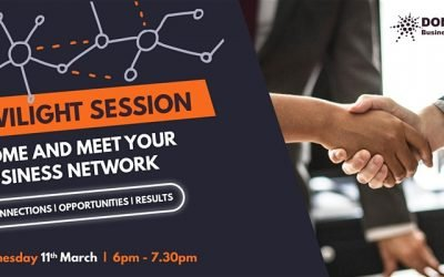 Twilight Meeting – 6.00 pm to 7.30 pm 90 minutes of Business Networking