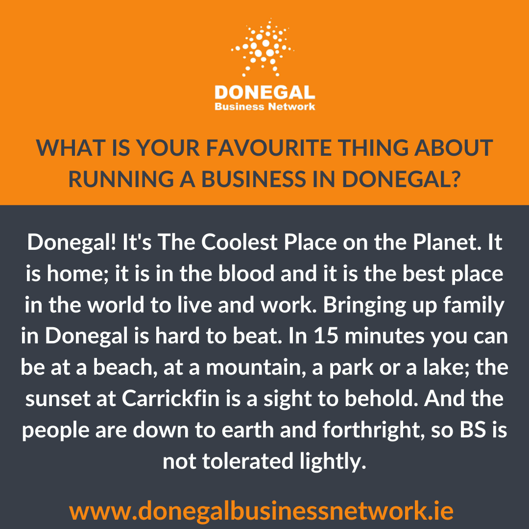 Favourite thing about Donegal
