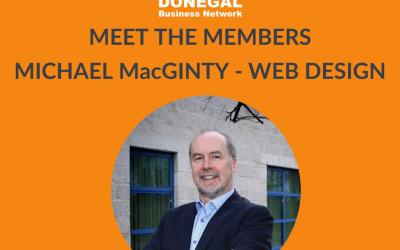 Meet the Members – Michael MacGinty Web Designer