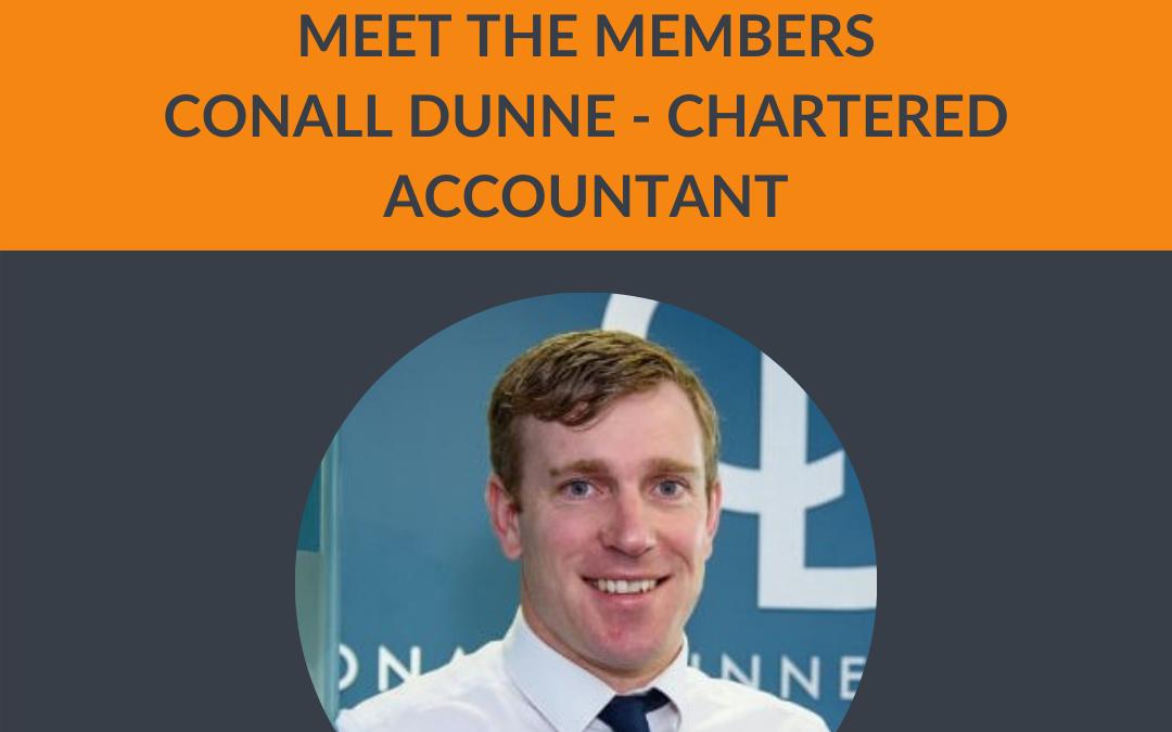 Meet the Members – Conall Dunne Accountant